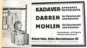 x 1929 02 01 Advertentie Heike  Ztschr. Abdeckereiwesen 1
